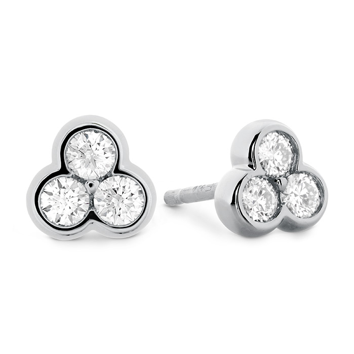 0.35 ctw. Effervescence Diamond Stud Earrings in 18K White Gold