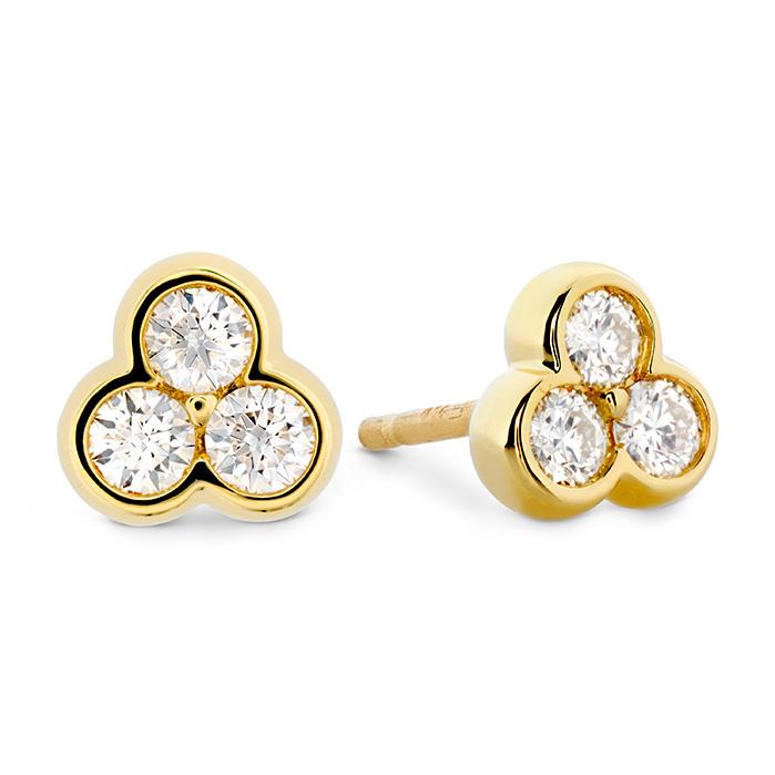 0.35 ctw. Effervescence Diamond Stud Earrings in 18K Yellow Gold