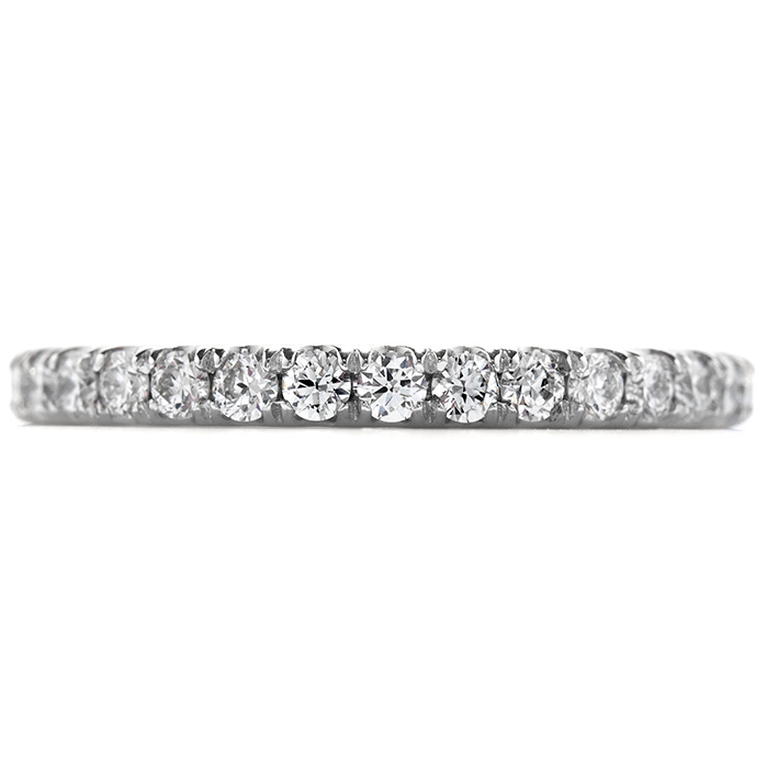 0.55 ctw. Enrichment Wedding Band in 18K White Gold