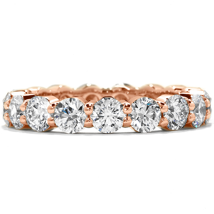3.7 ctw. Multiplicity Eternity Band in 18K Rose Gold