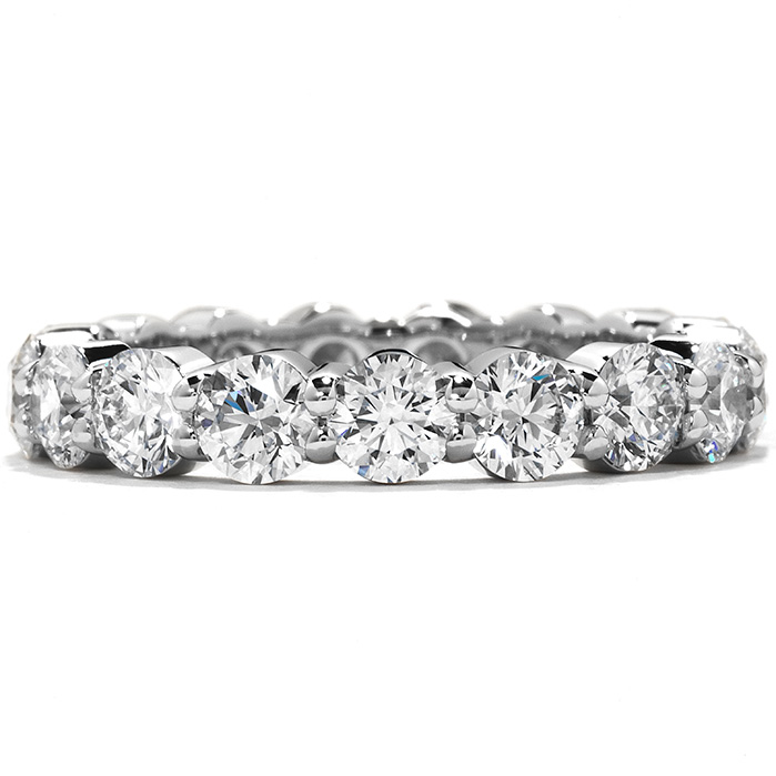 0.9 ctw. Multiplicity Eternity Band in 18K White Gold