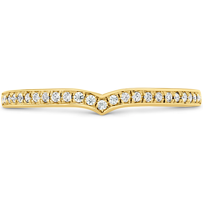 0.1 ctw. Euphoria Diamond Band in 18K Yellow Gold