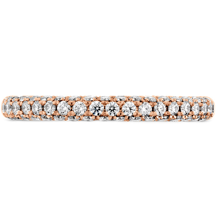 0.45 ctw. Euphoria Pave Band in 18K Rose Gold