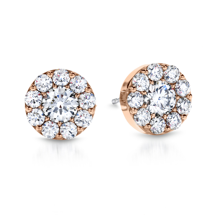 1.4 ctw. Fulfillment Stud Earrings in 18K Rose Gold