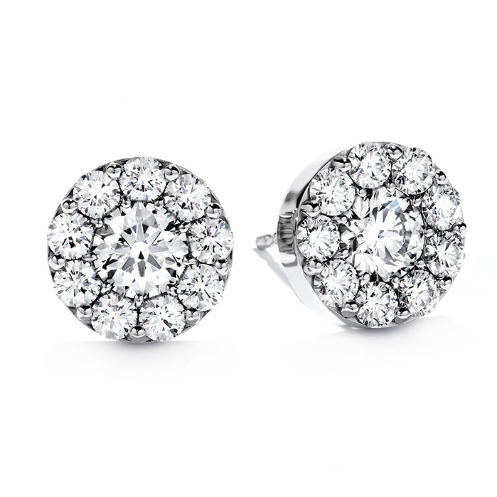 3 ctw. Fulfillment Stud Earrings in 18K White Gold