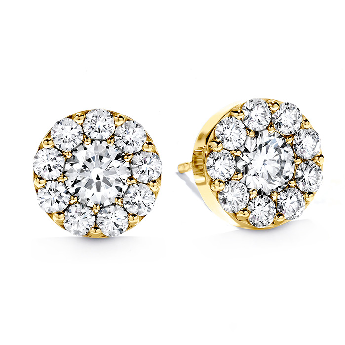 2 ctw. Fulfillment Stud Earrings in 18K Yellow Gold