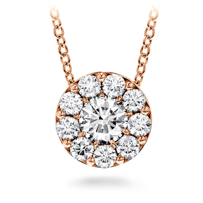 2 ctw. Fulfillment Pendant Necklace in 18K Rose Gold