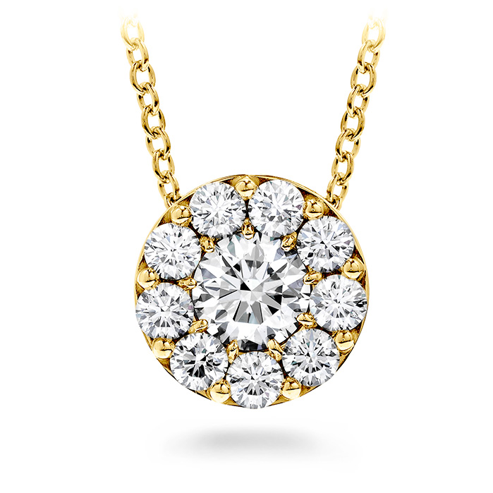 0.25 ctw. Fulfillment Pendant Necklace in 18K Yellow Gold