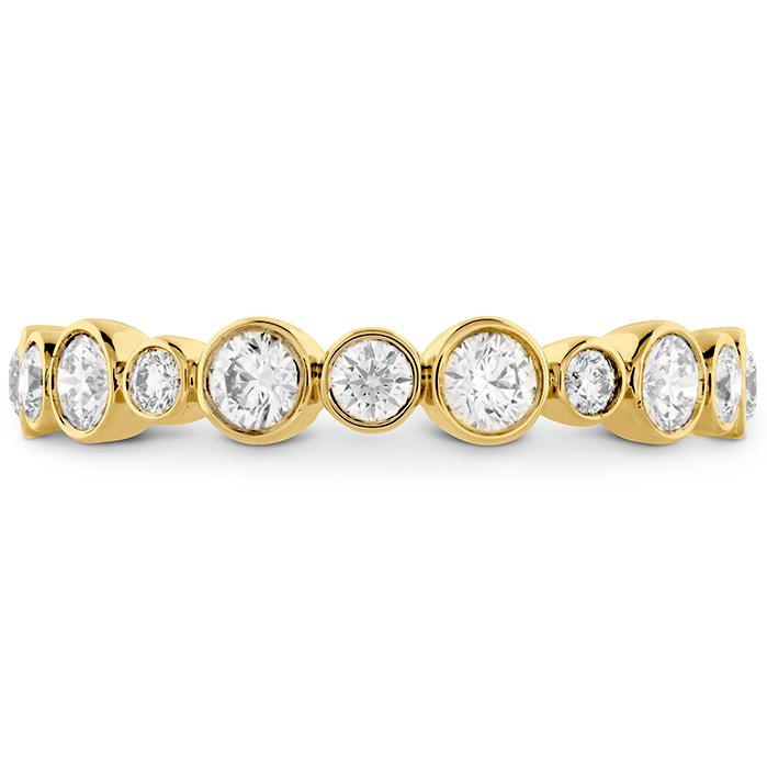 0.62 ctw. HOF Bezel Diamond Band in 18K Yellow Gold