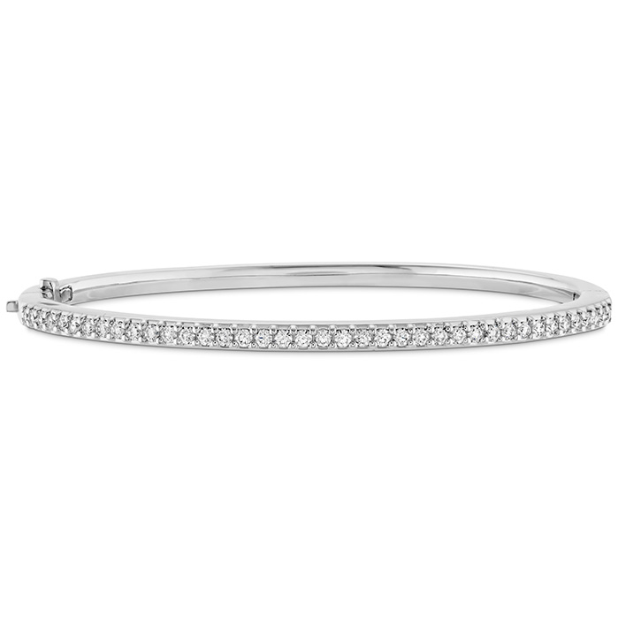 0.75 ctw. HOF Classic Prong Set Bangle - 170 in 18K Rose Gold