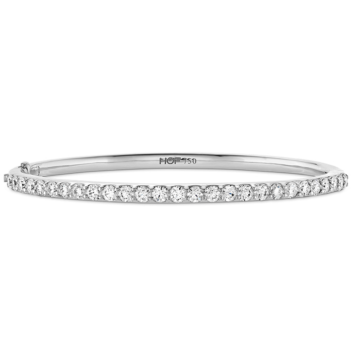 2 ctw. HOF Classic Prong Set Bangle - 270 in 18K White Gold