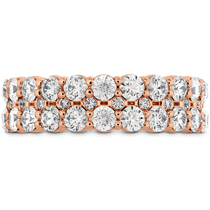 1.8 ctw. HOF Classic Double Row Band in 18K Rose Gold