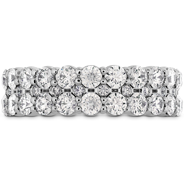 1.8 ctw. HOF Classic Double Row Band in Platinum