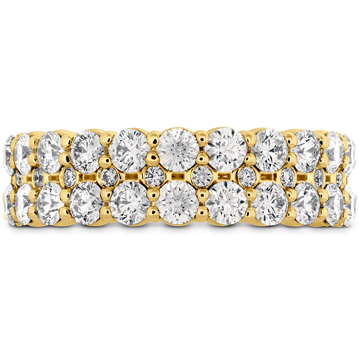 1.8 ctw. HOF Classic Double Row Band in 18K Yellow Gold