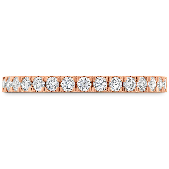 0.38 ctw. HOF Hexagonal Diamond Band in 18K Rose Gold