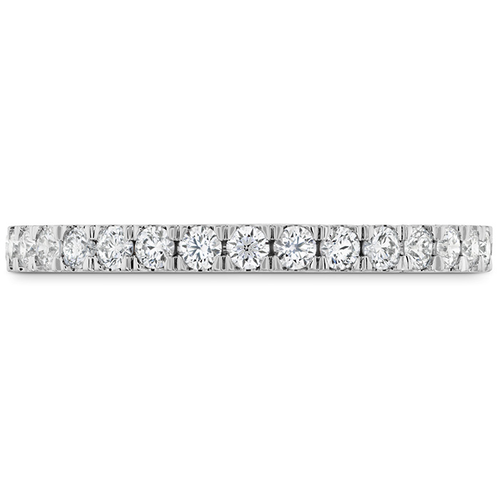 0.55 ctw. HOF Hexagonal Diamond Band in Platinum