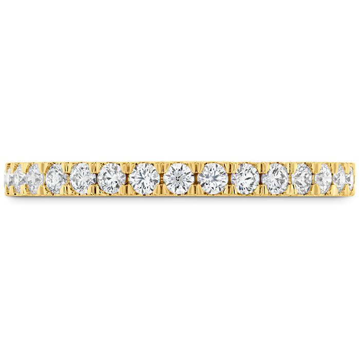 0.38 ctw. HOF Hexagonal Diamond Band in 18K Yellow Gold