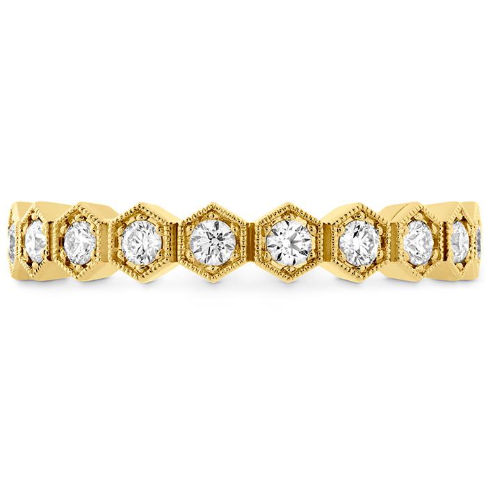 0.38 ctw. HOF Hex Diamond Band in 18K Yellow Gold