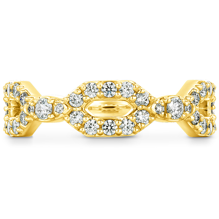 0.49 ctw. HOF Open Regal Diamond Band in 18K Yellow Gold