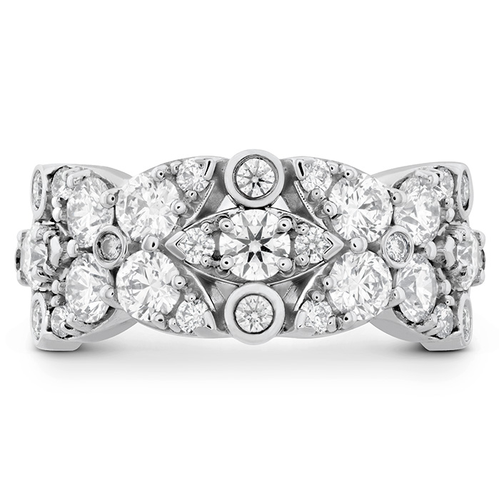 1.85 ctw. HOF Regal Diamond Ring in 18K White Gold