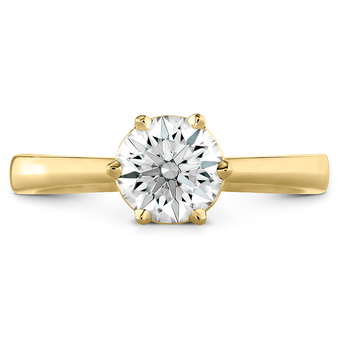HOF Signature 6 Prong Solitaire Engagement Ring