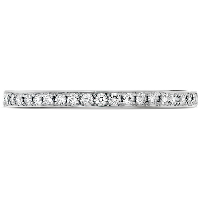 0.12 ctw. HOF Signature Diamond Band in 18K White Gold