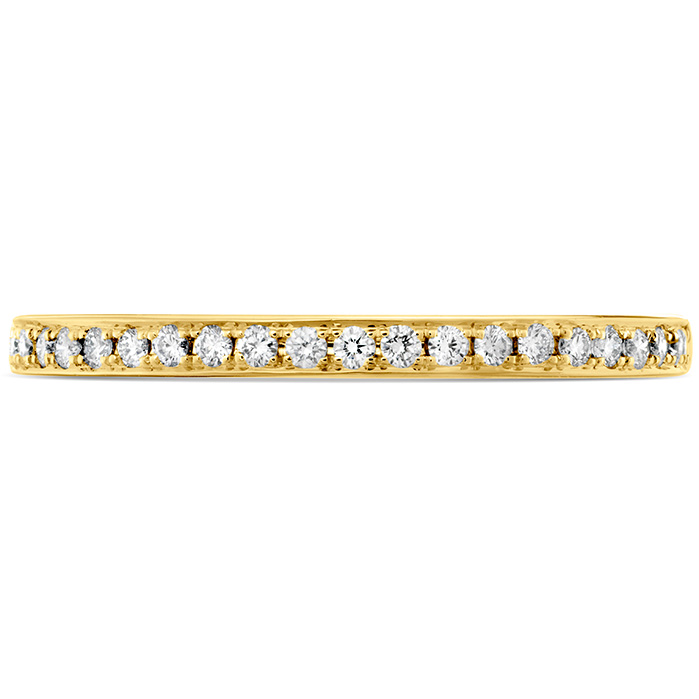 0.12 ctw. HOF Signature Diamond Band in 18K Yellow Gold
