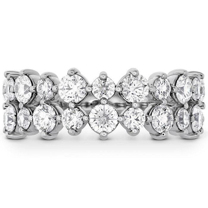 1.95 ctw. HOF Timeless Two Row Ring in Platinum
