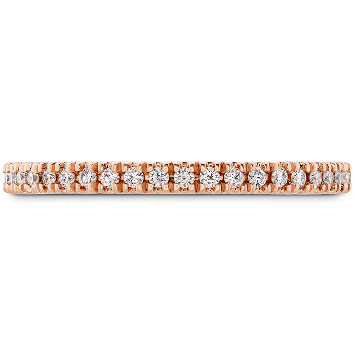 0.17 ctw. Sloane Wedding Band in 18K Rose Gold