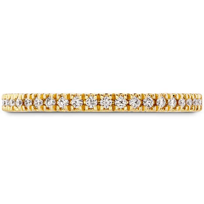 0.17 ctw. Sloane Wedding Band in 18K Yellow Gold