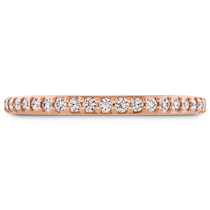 0.19 ctw. Behati Say It Your Way Matching Band in 18K Rose Gold