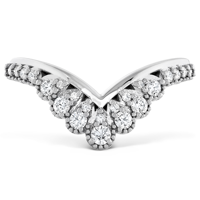 0.23 ctw. Behati Silhouette Power Band in 18K White Gold