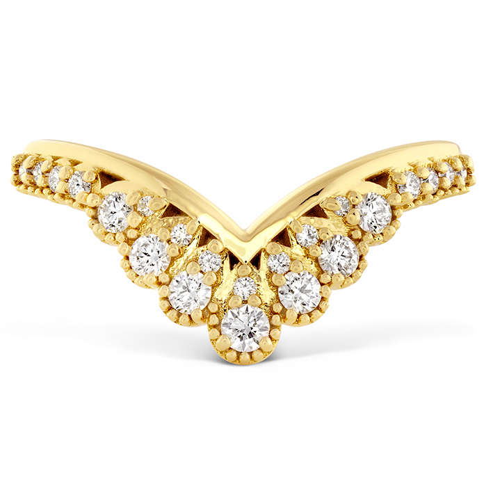 0.23 ctw. Behati Silhouette Power Band in 18K Yellow Gold