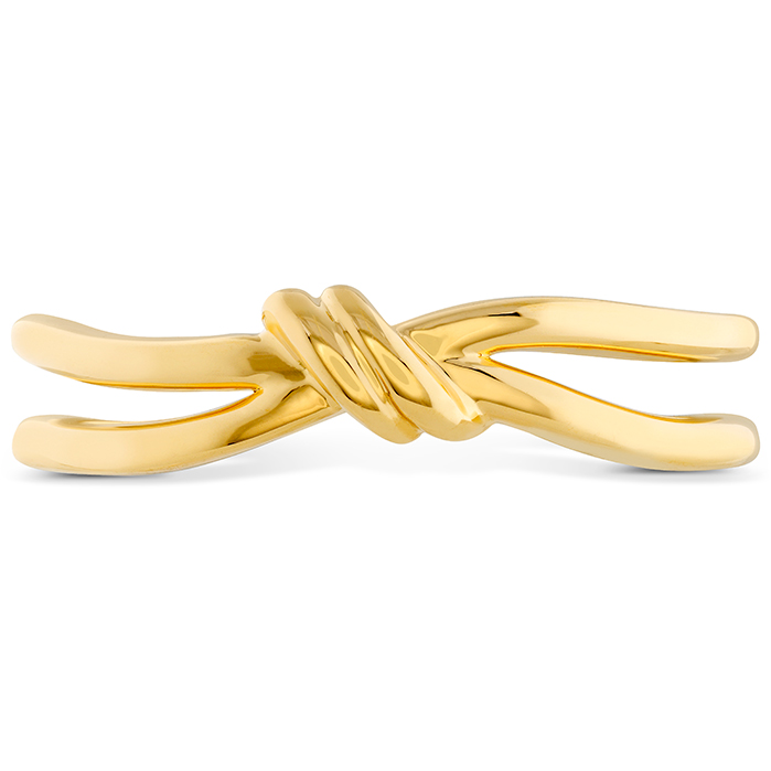 Love Code - Forget-You-Never Band in 18K Yellow Gold