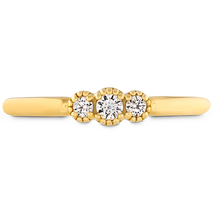 0.12 ctw. Behati Sweetheart Band in 18K Yellow Gold