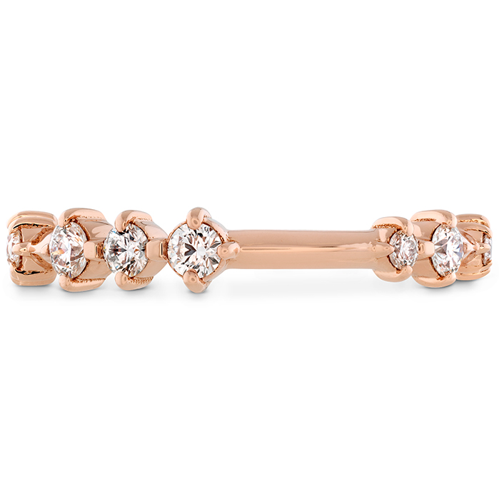 0.37 ctw. Love Code Band in 18K Rose Gold