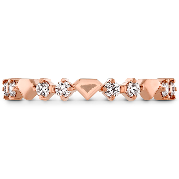 0.21 ctw. Behati Bold Shapes Band in 18K Rose Gold