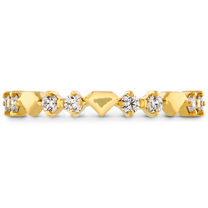 0.21 ctw. Behati Bold Shapes Band in 18K Yellow Gold