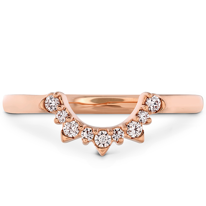 0.1 ctw. Behati Tiara Band in 18K Rose Gold