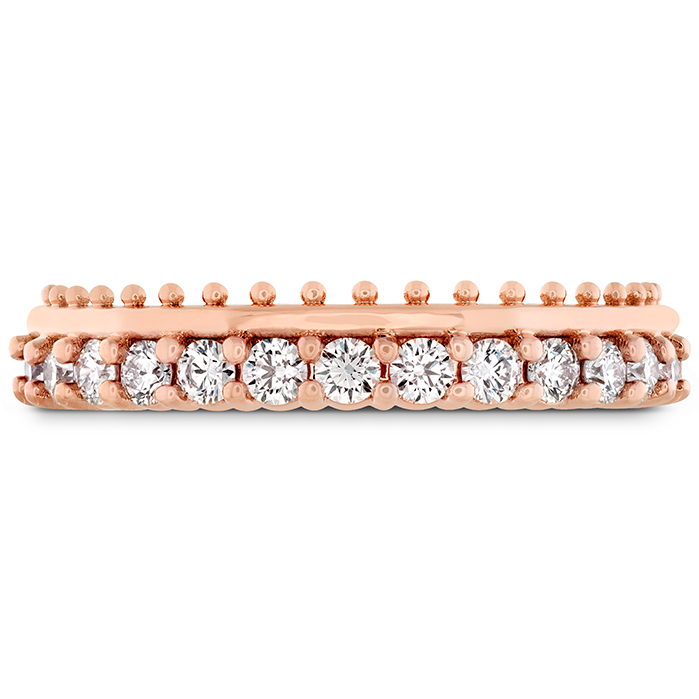 0.42 ctw. Sloane Picot All In A Row Band in 18K Rose Gold