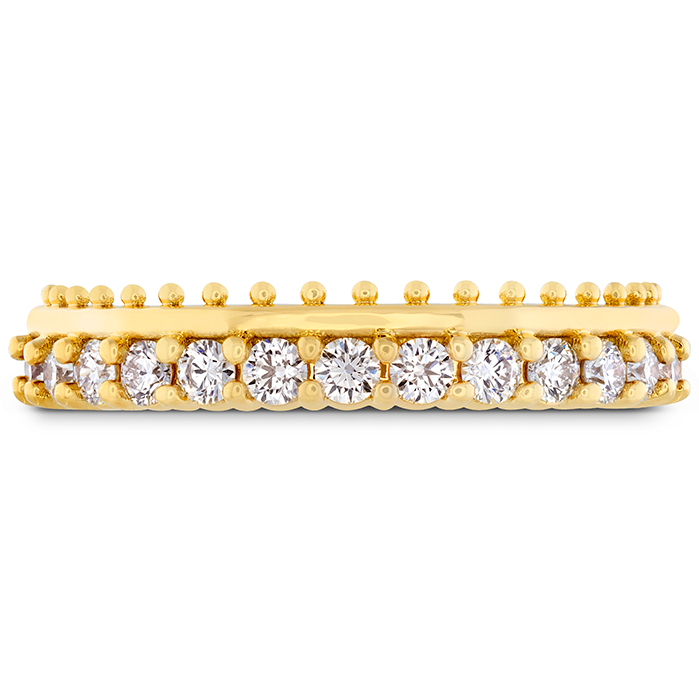 0.42 ctw. Sloane Picot All In A Row Band in 18K Yellow Gold