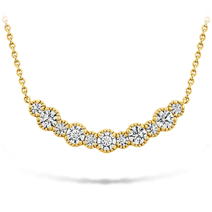 0.86 ctw. Behati Beaded Pendant - Medium in 18K Yellow Gold