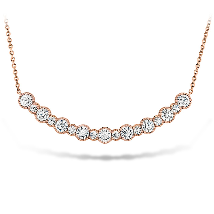 1.45 ctw. Behati Beaded Pendant - Large in 18K Rose Gold
