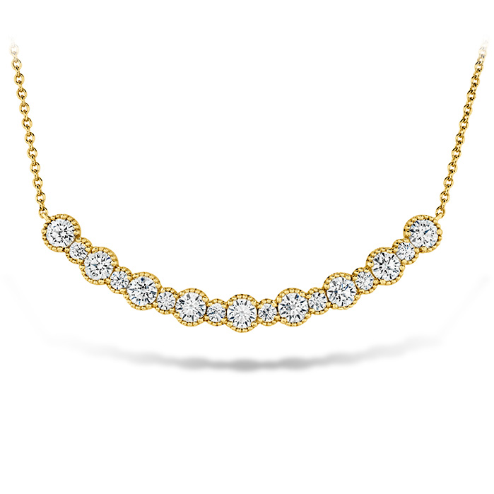 1.45 ctw. Behati Beaded Pendant - Large in 18K Yellow Gold