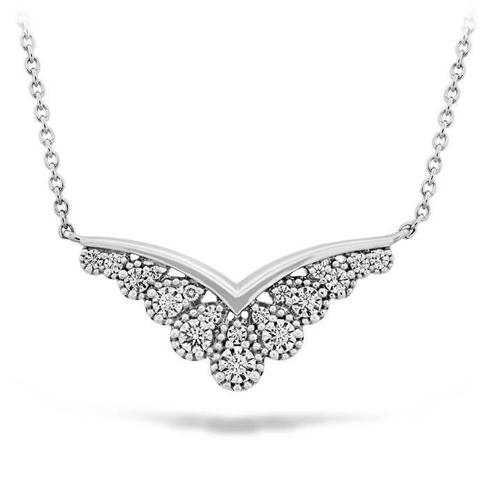 0.35 ctw. Behati Silhouette Power Pendant in 18K White Gold