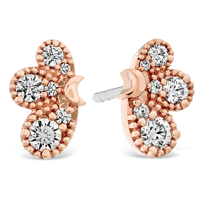 0.45 ctw. Behati Earrings in 18K Rose Gold