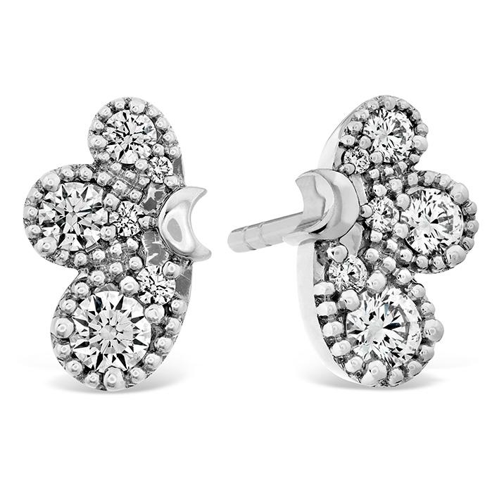 0.45 ctw. Behati Earrings in 18K White Gold