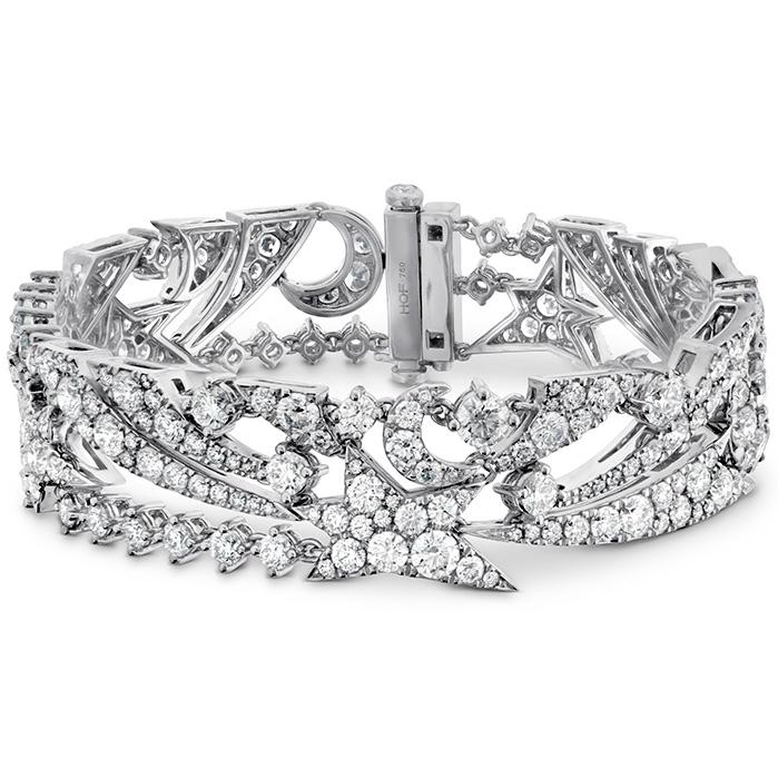 14 ctw. Illa Midnight Diamond Bracelet in 18K White Gold