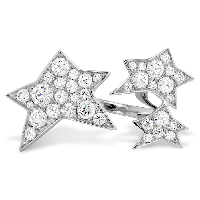 1.3 ctw. Illa Midnight Pave Ring in 18K White Gold