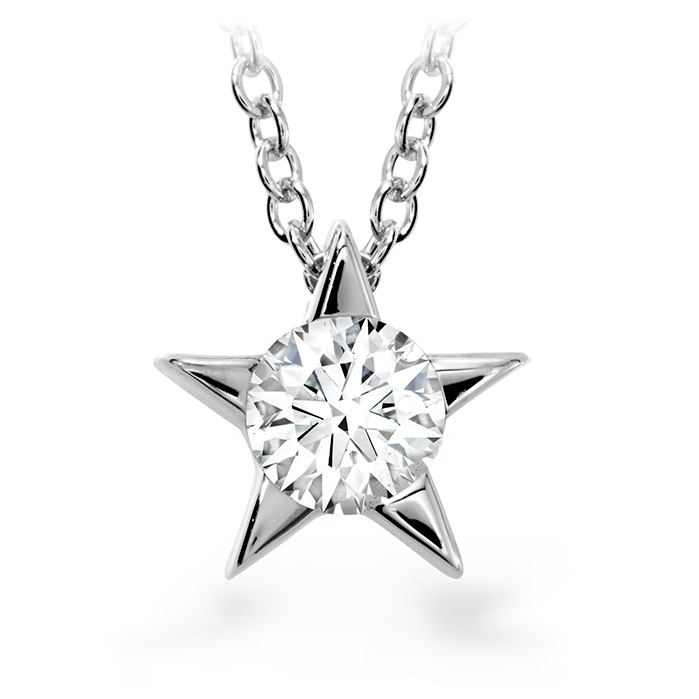 0.15 ctw. Illa Pendant Necklace in 18K White Gold